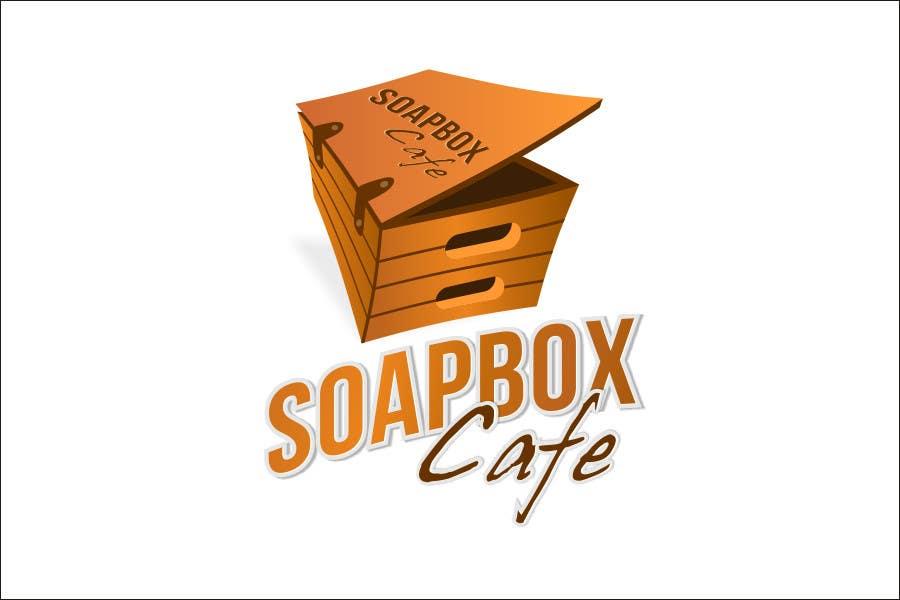 Kilpailutyö #165 kilpailussa Logo Design for The Sopa Box Cafe