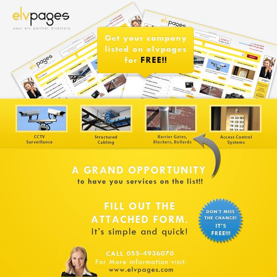 Kilpailutyö #                                        26                                      kilpailussa                                         Graphic Design for elvpages.com