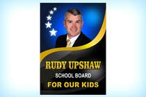 Graphic Design Inscrição do Concurso Nº19 para Graphic Design for Rudy Upshaw for School Board