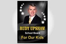 Graphic Design Inscrição do Concurso Nº11 para Graphic Design for Rudy Upshaw for School Board