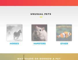 Nro 60 kilpailuun Design a Website Mockup for a pet site käyttäjältä JohnJacoub