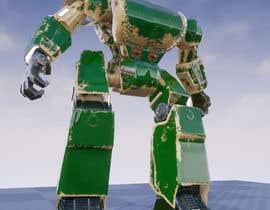 #34 cho Anime Super Robot 3D Model Textured Rigged bởi mochfar