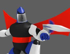 #16 cho Anime Super Robot 3D Model Textured Rigged bởi diskette96