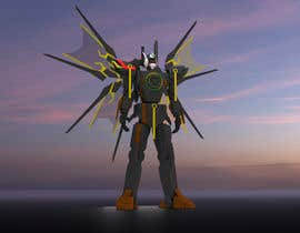 #25 cho Anime Super Robot 3D Model Textured Rigged bởi BroDesigns