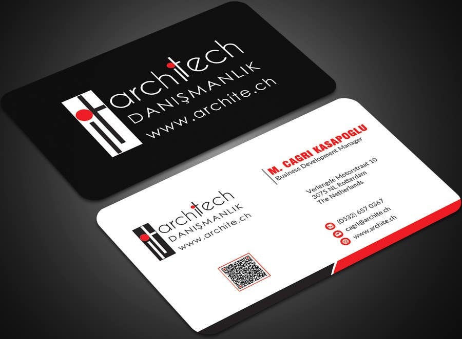 Entry #209 by mehfuz780 for Business Card For Consultancy and ...