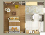 Graphic Design Kilpailutyö #2 kilpailuun 3D Rendered Drawing Designs of a Real Estate Development for Linn Industries