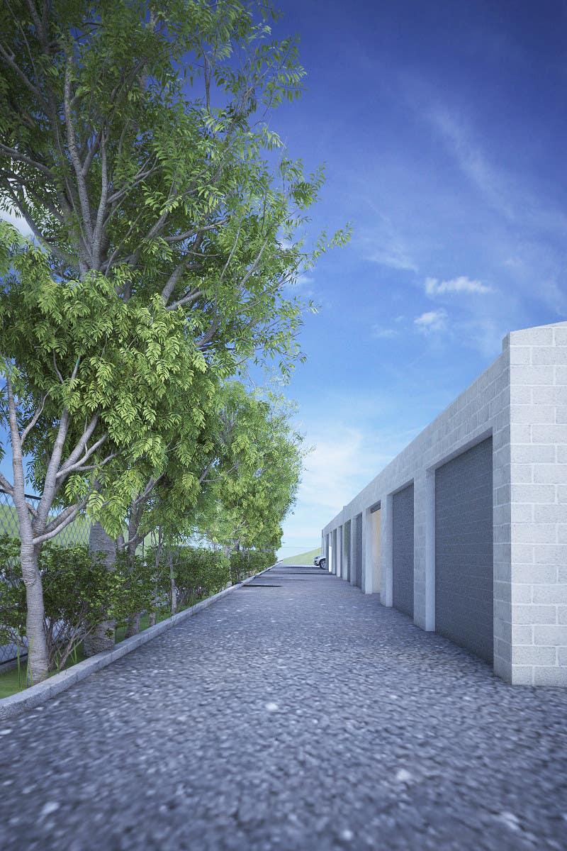 Kilpailutyö #77 kilpailussa 3D Rendered Drawing Designs of a Real Estate Development for Linn Industries