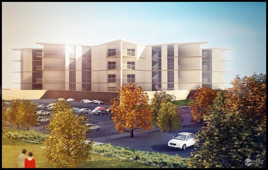 Inscrição nº                                         26                                      do Concurso para                                         3D Rendered Drawing Designs of a Real Estate Development for Linn Industries