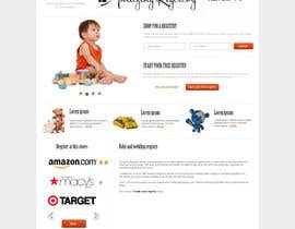 nº 21 pour Website Design for Amazing Registry.com, Inc. par webgik