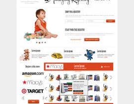 #22 cho Website Design for Amazing Registry.com, Inc. bởi webgik