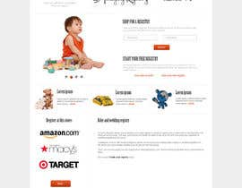 nº 7 pour Website Design for Amazing Registry.com, Inc. par webgik