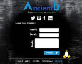 ahmedfoaud tarafından Personal Website Design için no 28