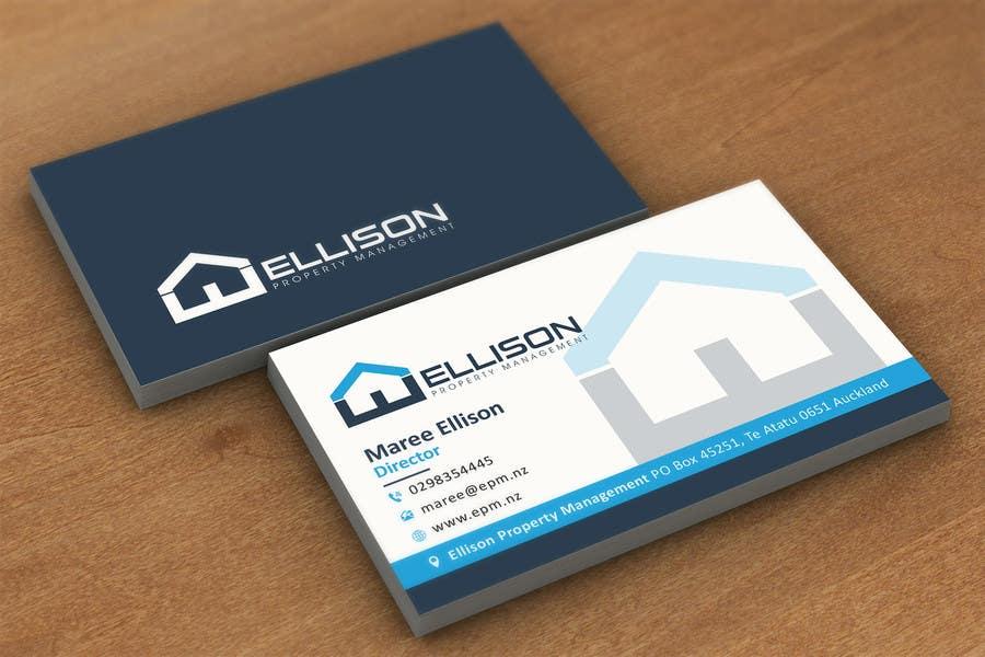 Ellison property management business card freelancer for Business card management