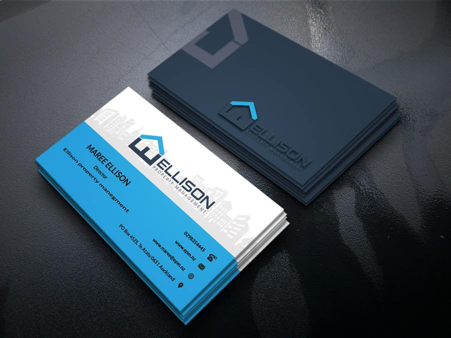 Entry #287 by anik1122 for Ellison Property Management Business Card ...