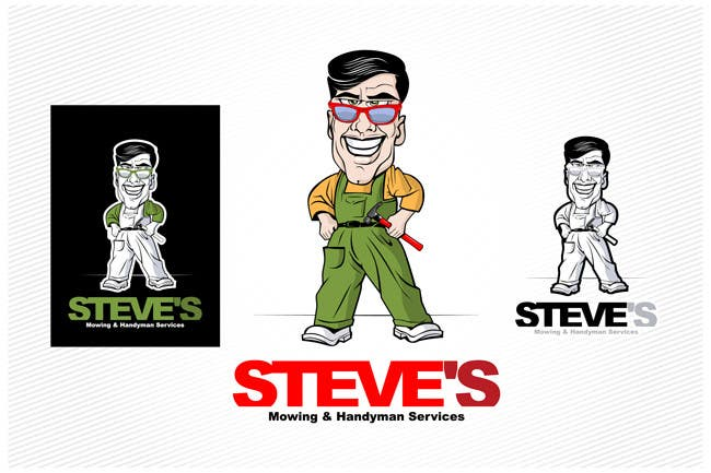 Конкурсная заявка №32 для Logo Design for Steve's Mowing & Handyman Services