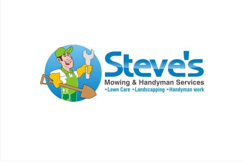 Конкурсная заявка №55 для Logo Design for Steve's Mowing & Handyman Services