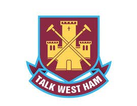 nº 2 pour Graphic Design for Talk West Ham par innagraphic