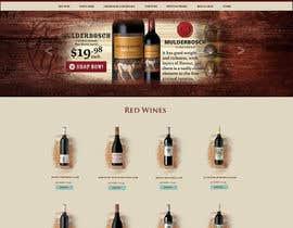 #3 for Design a Beer / Liquor / Wine Website by Marcibel