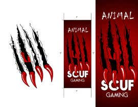 #64 pentru Graphic Design for SCUF Gaming LLC. de către mega619