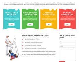 nº 2 pour Concevez une maquette de site Web pour une entreprise de peinture en bâtiment par belhajyassine05