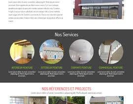 nº 8 pour Concevez une maquette de site Web pour une entreprise de peinture en bâtiment par belhajyassine05