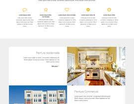 nº 9 pour Concevez une maquette de site Web pour une entreprise de peinture en bâtiment par belhajyassine05