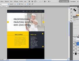 nº 1 pour Concevez une maquette de site Web pour une entreprise de peinture en bâtiment par PandaLabo