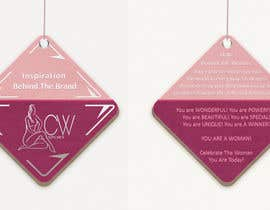 #29 para Create hang tag for clothing, backdrop, and Packaging Designs por veranika2100