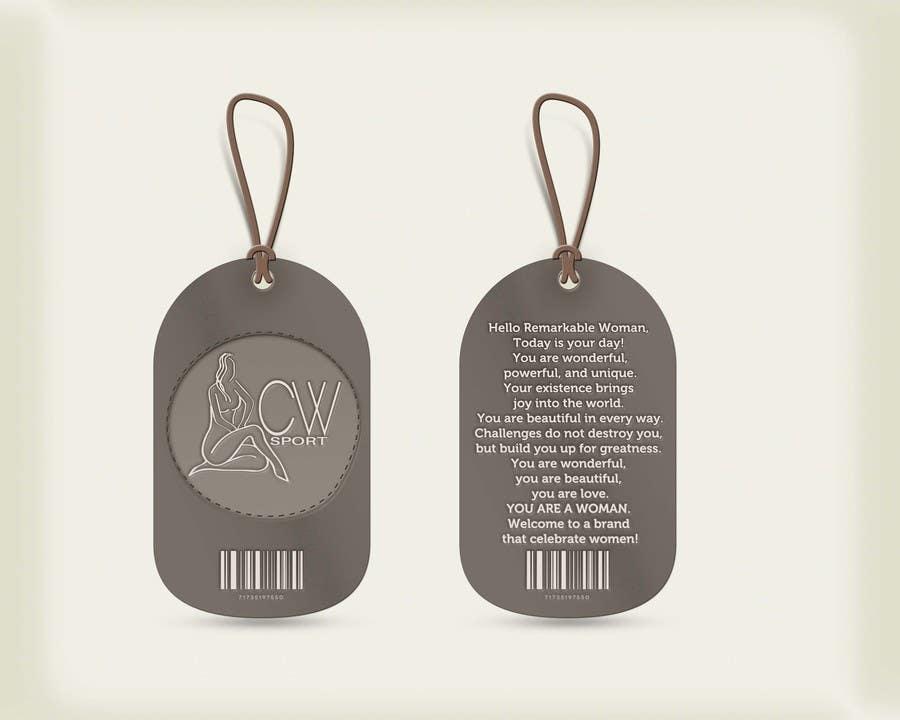 Inscrição nº                                         6                                      do Concurso para                                         Create hang tag for clothing, backdrop, and Packaging Designs