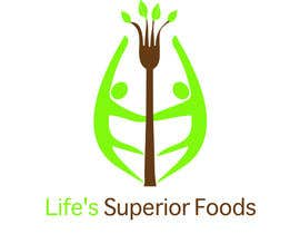 #22 para Logo Design for Life's Superior Foods por Rainiechung
