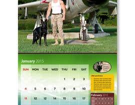#9 para Design a Calendar for Southeast German Shepherd Rescue por harihenansh