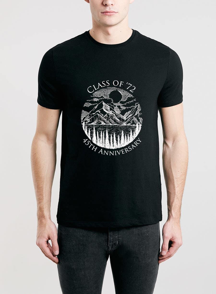 Contest Entry #6 For Design A T Shirt For A Class Reunion