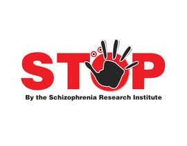 nº 10 pour Logo Design for Logo is for a campaign called 'Stop' run by the Schizophrenia Research Institute par Anamh