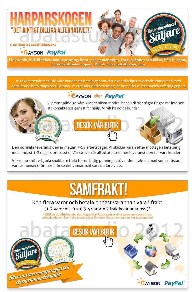 Konkurrenceindlæg #16 for Banner Ad Design for Unknown