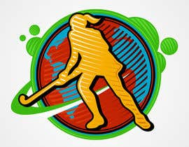 lokmenshi tarafından Design a Field Hockey Patch for Bags and Backpacks için no 9