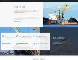 Nro 34 kilpailuun Redesign of www.shipping-services.de käyttäjältä designerchoize