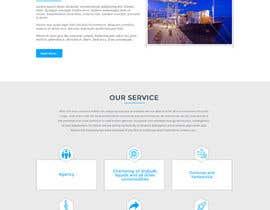 Nro 14 kilpailuun Redesign of www.shipping-services.de käyttäjältä aryamaity
