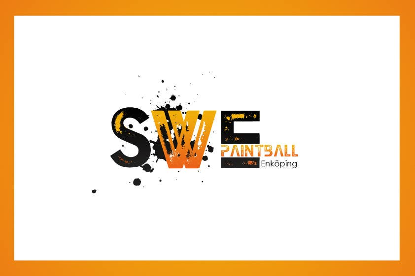 Kilpailutyö #62 kilpailussa Logo Design for SWEpaintball