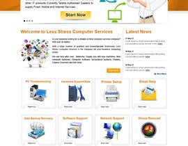 #29 para Website Design for Less Stress Computer Services por alimoon138