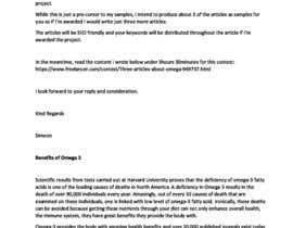 Nro 6 kilpailuun Content Writing for natural-access.com käyttäjältä supersystemng