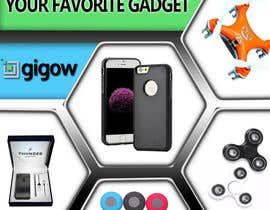#80 for Design a banner for a futuristic ecommerce gadget site by Lorah23