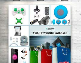 #49 for Design a banner for a futuristic ecommerce gadget site by RomanTupolev