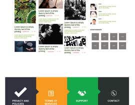 #2 for Design a Website Mockup by jatinparihar1996