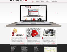 nº 13 pour Website Design for Computer Rehab par timid
