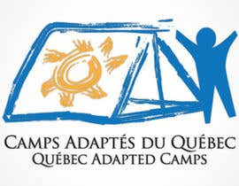 #5 for Logo Design for Quebec Adapted Camps / Camps Adaptés Québec by raffyph1