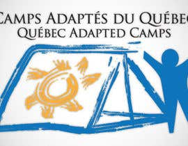 #1 for Logo Design for Quebec Adapted Camps / Camps Adaptés Québec by raffyph1