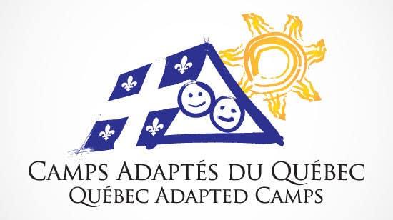 Proposition n°13 du concours Logo Design for Quebec Adapted Camps / Camps Adaptés Québec