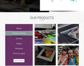 #29 untuk Design a premium print-house website oleh webmastersud