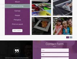 #30 untuk Design a premium print-house website oleh webmastersud