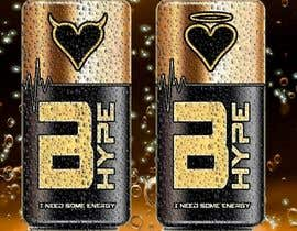 #121 for Photoshop Design for B-Hype Energy Drink by escadrill